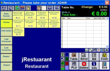 Restaurant Kitchen Order System bar and restaurant point of sale system (pos)