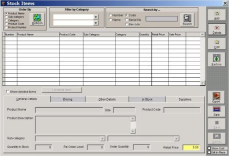 Bar Code Inventory, Tracking Software Systems, Stock Control
